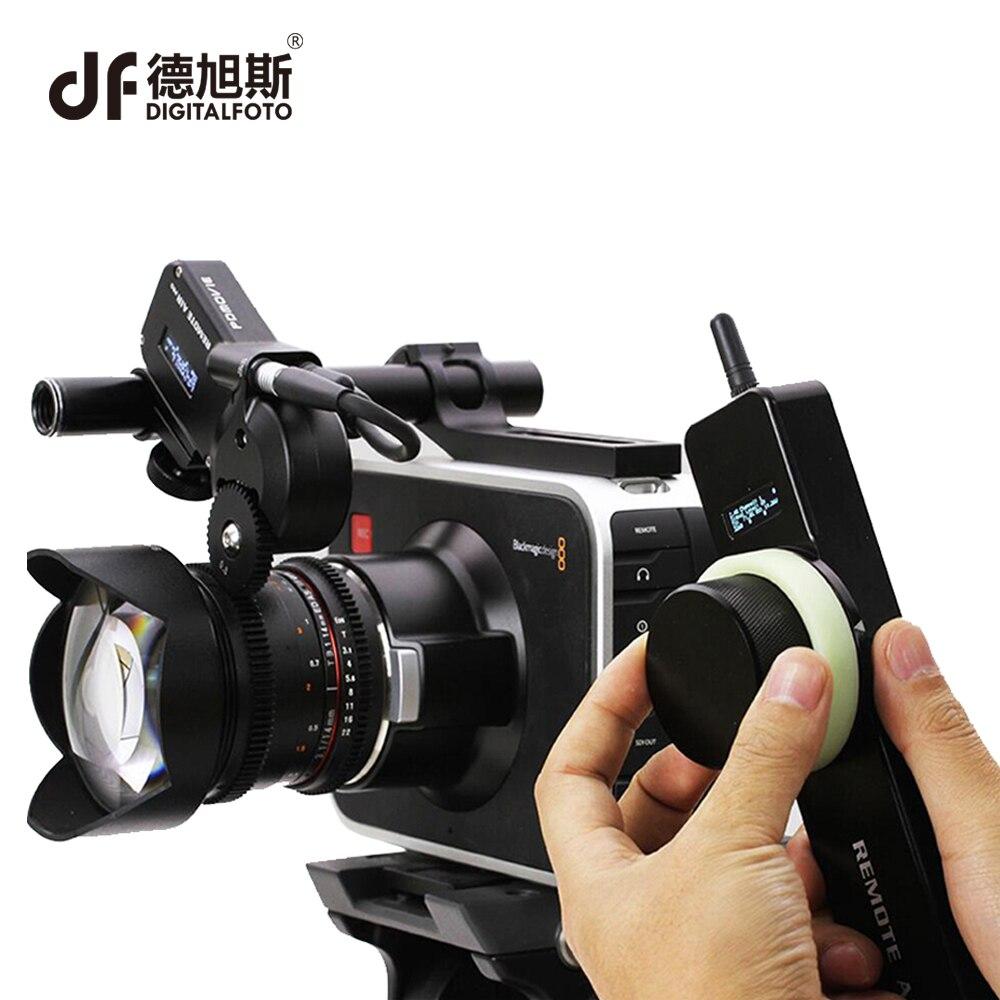 все цены на DIGITALFOTO PDMOVIE professional Remote Air 2 motorized wireless follow focus for DSLR camera film lens EF carl zeiss UP MP lens онлайн