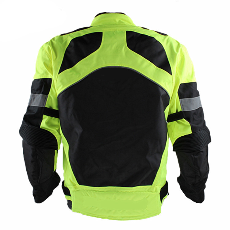 Hot Promotion Ridding Trible Motorcycle Jacket  Road Cycling Jackets With Elbow Shoulder Protective Pads JK21S