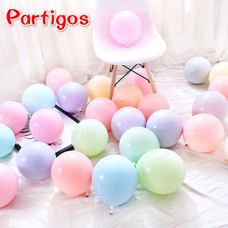 10pcs/lot 10inch Macaron Latex Balloons Helium Balloon Wedding Decoration Birthday Party Candy Macaron Latex Balaos Decor