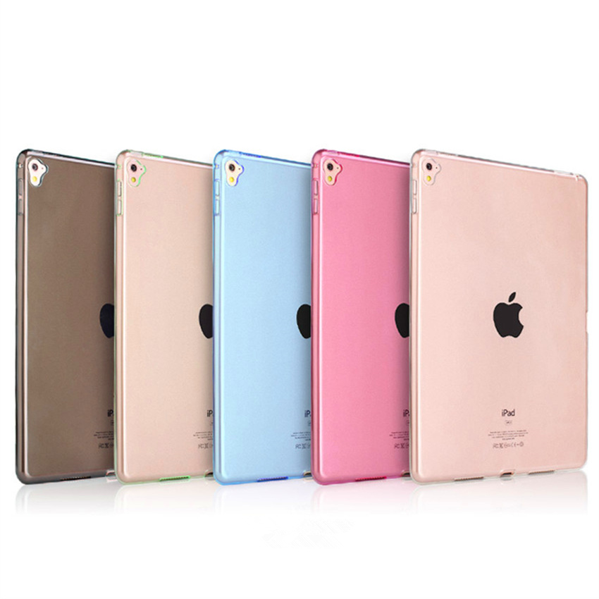 Clear Transparent Silicon TPU Case For iPad Pro Mini 9.7 Cover Case For iPad Air 3 Case Slim Tablet Cover For iPad Pro 9.7 2016