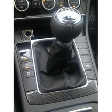 Free Shipping 5 Speed 6 Gear Shift Knob With Chrome Frame For VW Passat B6 CC 3C R36 TDI 2005 2006 2007 2008 2009 2010-2013 цена и фото