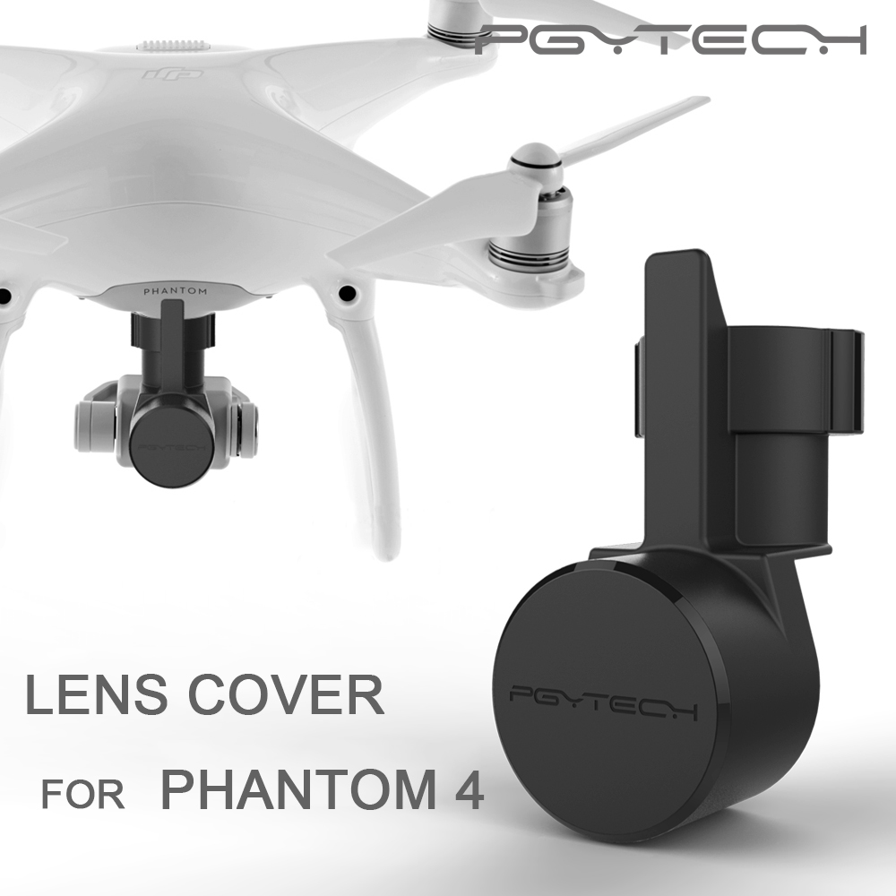 PGYTECH Lens Cover Cap Hood Protective Case Camera protective Guard DJI phantom 4 pro and gimbal Accessories drone parts