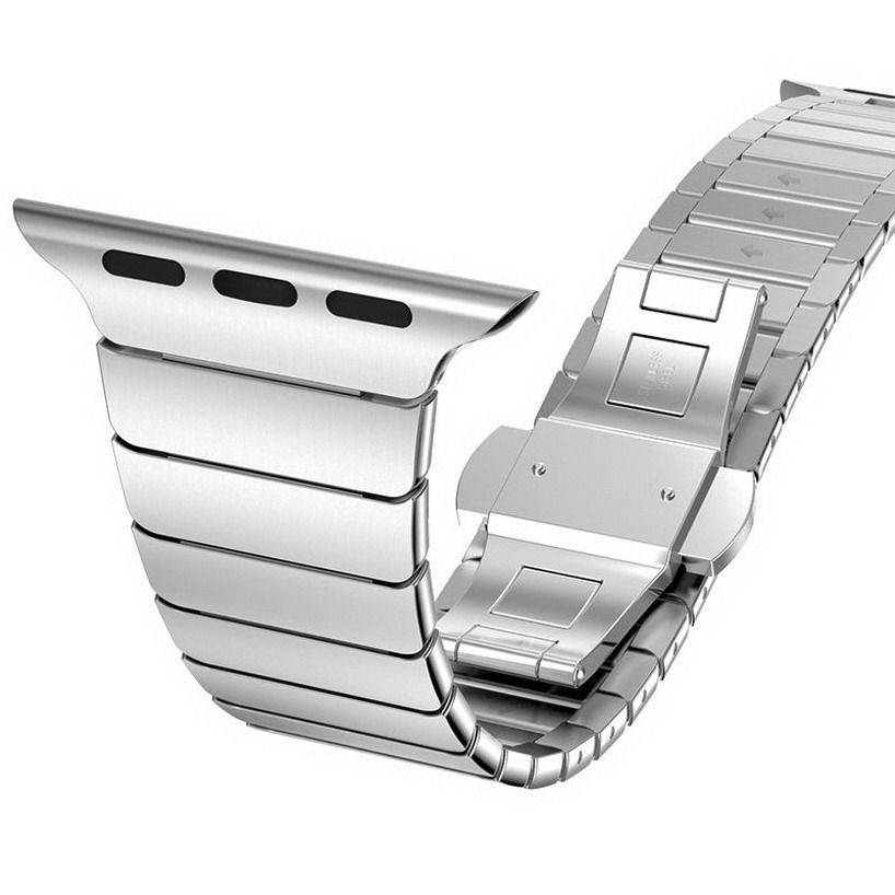 Edelstahl Metallarmband für Apple Watch Serie 1 2 3 4 5 Band - Uhrenzubehör - Foto 2