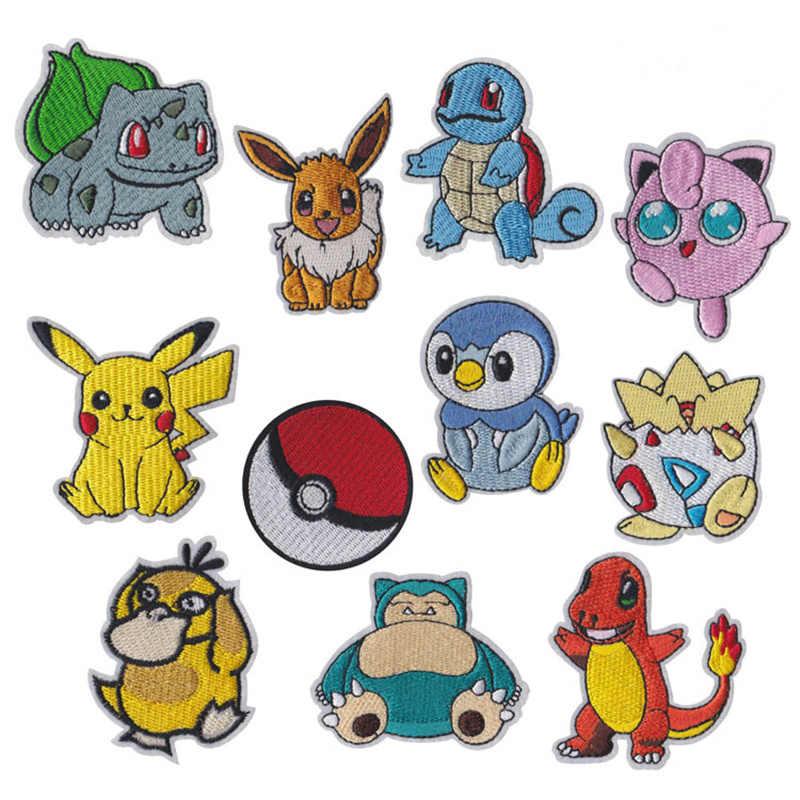 1 Pcs Pikachu Pokemon Go Team logo ferro sulle zone UMBREON Film TV Gioco della Serie Cosplay Costume Ricamato Emblem Badge fan art