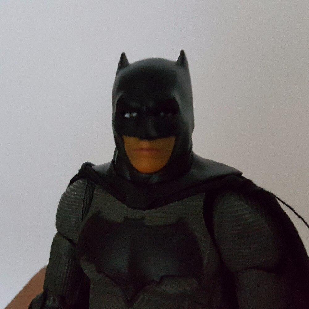 Batman Action Figure PVC 150MM Movable Batman Arkham Knight Anime Collectible Model Toy Bat Man neca dc comics batman arkham knight batarang replica action figure with light collectible model toy