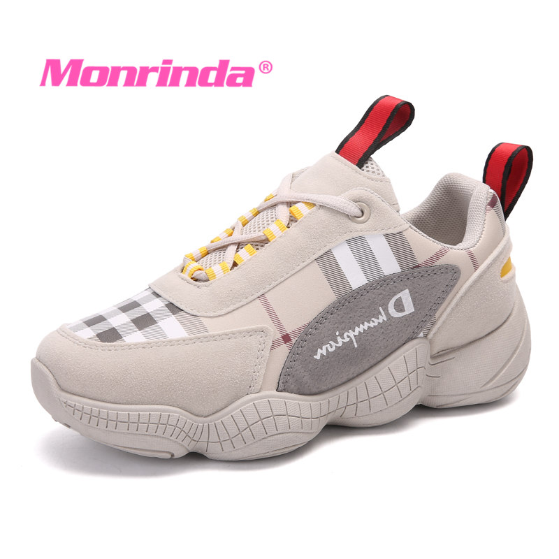 New running women shoes yeezys air 350 Lattice Vamp sport shoes woman Breathable Cozy Trainer Outdoor Walking Beige Sneakers 40