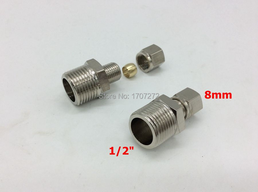 Free shipping copper fitting quot mm high quality