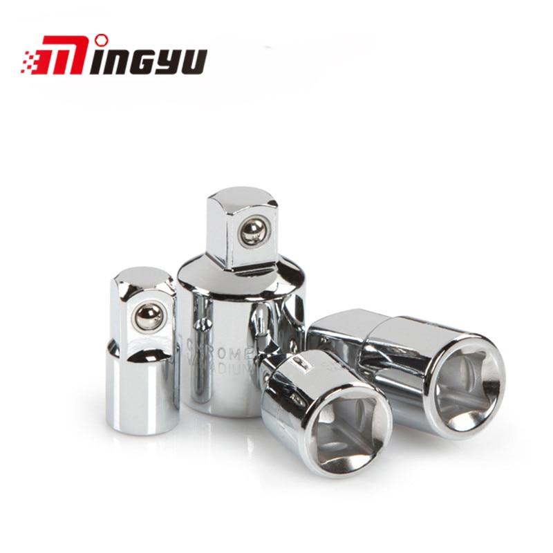 Tools Special Section 4pc Socket Adaptor Ratchet Converter Reducer Tool 1/2 3/8 1/4 Set Good Heat Preservation Tool Sets