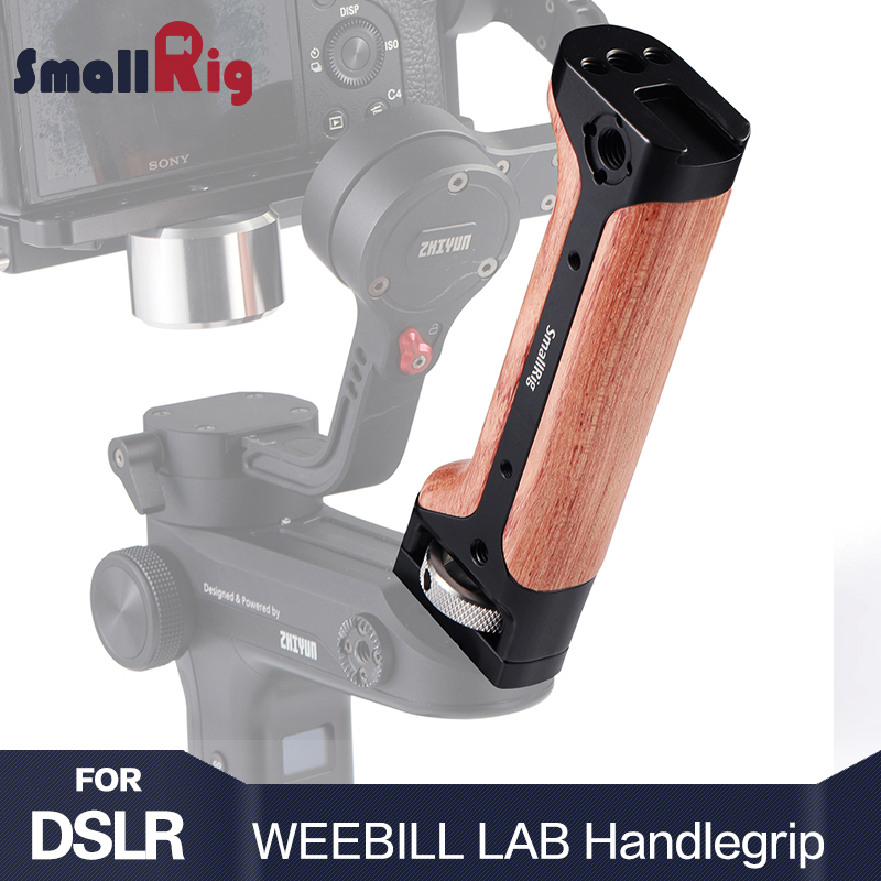 SmallRig DSLR Camera Handle Handgrip for Zhiyun WEEBILL LAB Gimbal With Shoe Mount and 1/4 3/8 Thread Holes for DIY Options 2276SmallRig DSLR Camera Handle Handgrip for Zhiyun WEEBILL LAB Gimbal With Shoe Mount and 1/4 3/8 Thread Holes for DIY Options 2276
