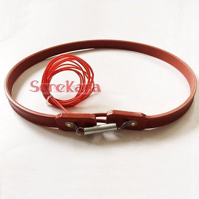 15x730mm 50W 200-240V Silicon Heater Strip Belt For Air Conditioner Compressor Crankcase Turbine