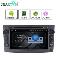 JDASTON 2G+16G ANDROID 7.1.1 Car DVD For Opel Astra Vectra Antara Meriva Corsa Zafira Vivaro GPS Navigation Radio multimedia