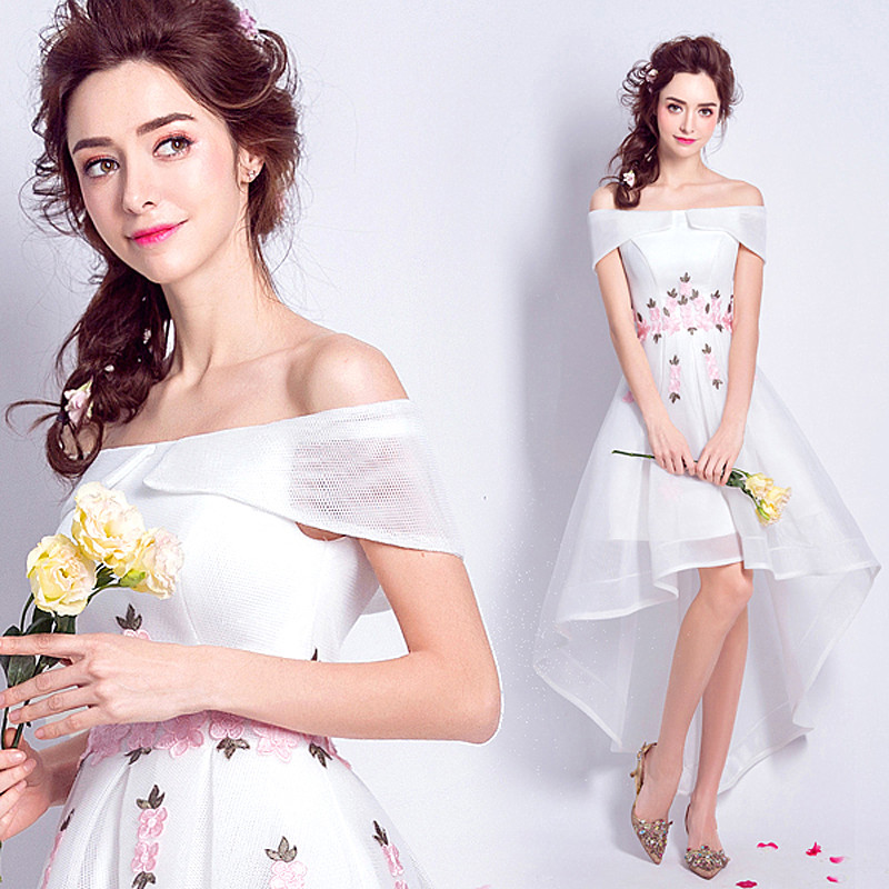 Popular Designer Short Wedding Dress-Buy Cheap Designer Short ...