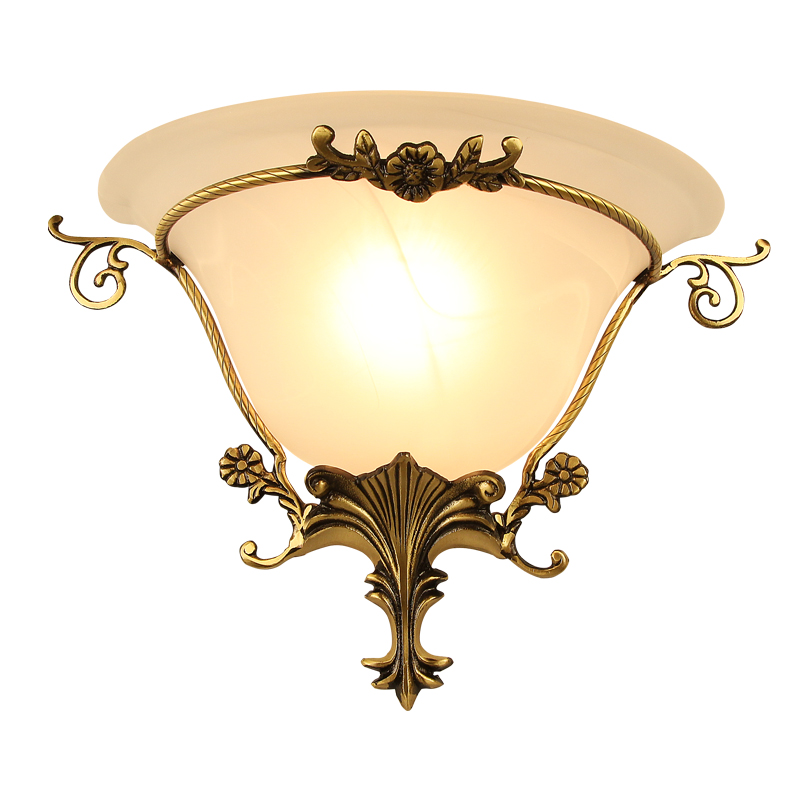 Modern Jane Type Copper Led Wall light Corridor Aisle Bedroom Bedside Wall Lamp Lighting American Living Room wall lamp E27 small size josephine wall lamp modern design wall light living room lobby bedroom aisle corridor lighting wall sconce lamp
