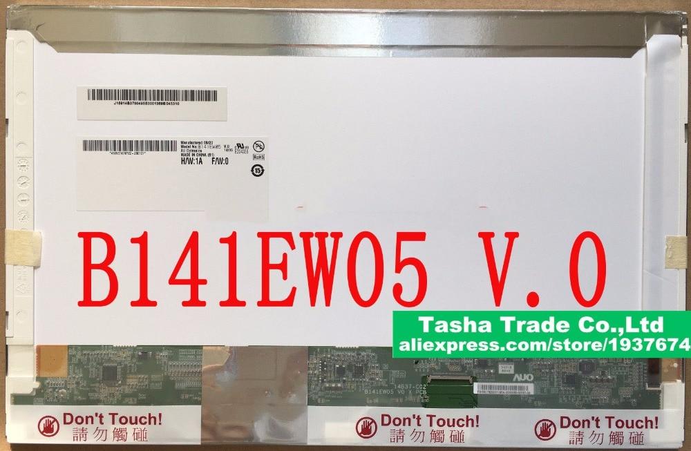B141EW05 V.0 B141EW05 V0 LCD Screen LED Display 1280*800 Silver Small 40 PIN Connector Glossy
