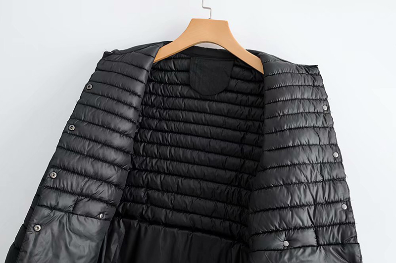 Abrigo Básico Femenino Tamaño Negro Abrigos gris Mujer Chaqueta Invierno De 2019 Parkas Caliente Mujeres Algodón Largo Gran Ropa Aflojar Rnq8B4w