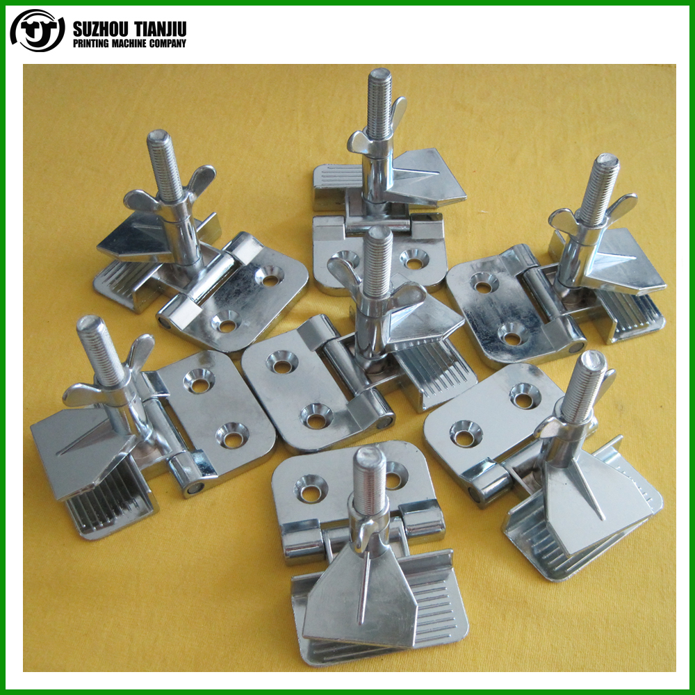TJ wholesale screen printing hinge clamp buttfly clamp 50 pieces hot sales
