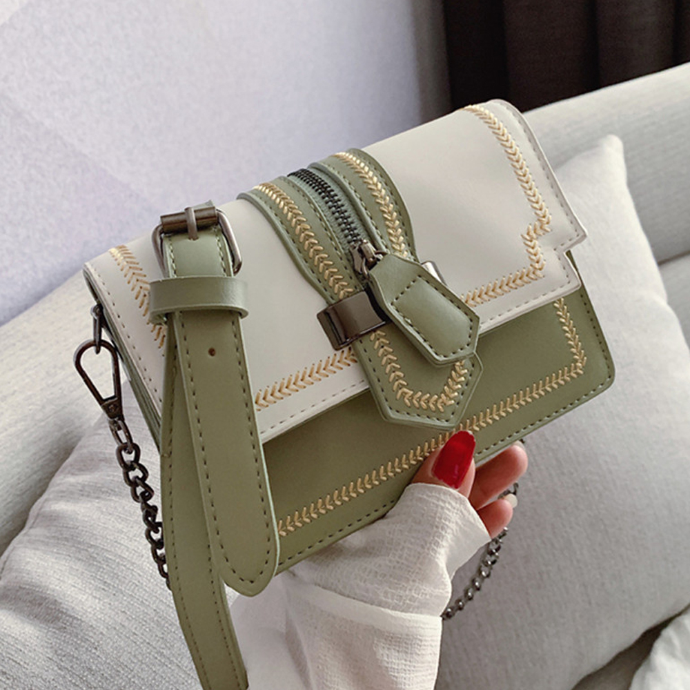Crossbody-Bags Messenger-Shoulder-Bag Handbag Purses Embroidery Women Ladies for New