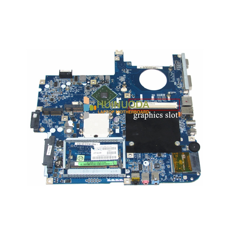 LA-3581P MBAK302002 for ACER 5520G Laptop Motherboard MB.AK302.002 ICW50 LA-3581P with graphics slot MCP67MV