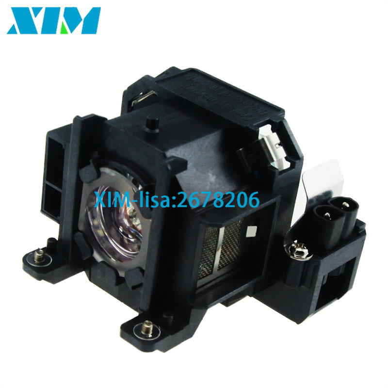 High Quality Projector lamp with housing V13H010L38 ELPL38 170W for Epson EMP-1700 EMP-1705 EMP-1707 EMP-1710 EMP-1715 EMP-1717 projector lamp elplp43 v13h010l43 for epson emp twd10 emp w5d moviemate 72 with japan phoenix original lamp burner