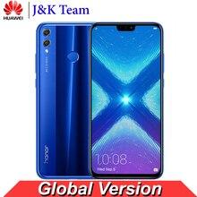 Huawei Onur 8X Küresel Sürüm MobilePhone 6.5 inç Ekran 3750 mAh Pil OTA Güncelleme Çift Geri 20MP Kamera Smartphone