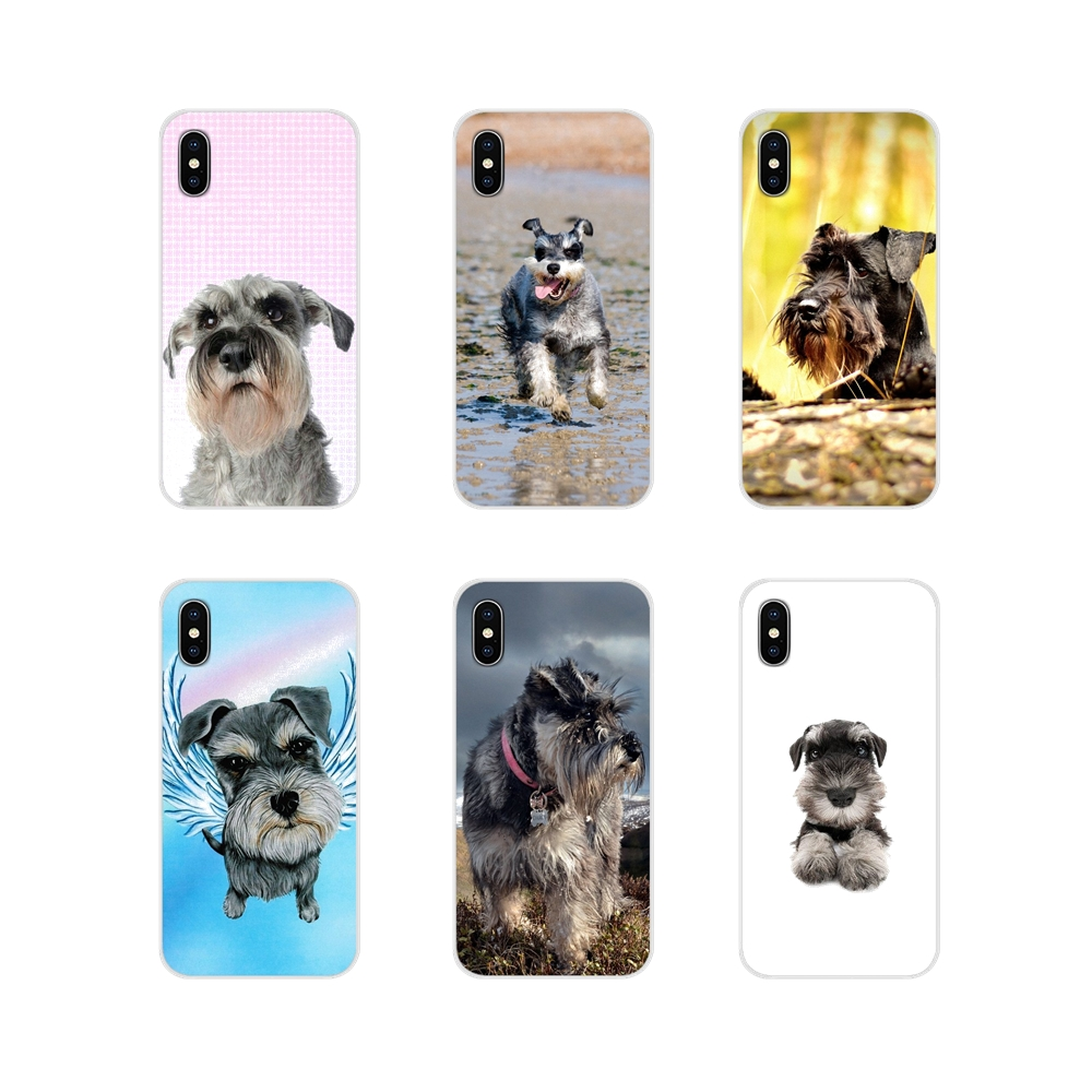 For <font><b>Nokia</b></font> 2 <font><b>3</b></font> 5 6 8 9 230 3310 2.1 <font><b>3</b></font>.1 5.1 7 Plus For LG Q6 7 8 9 X Power Miniature Schnauzer Puppy <font><b>dog</b></font> Art Silicone <font><b>Cases</b></font> Cover image