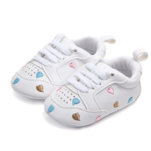 Baby Shoes Prewalker Toddlers First Walkers Girls Infant Cat Princess bowknot Sneakers Girls Boys Footwear Froral Newborn(China)