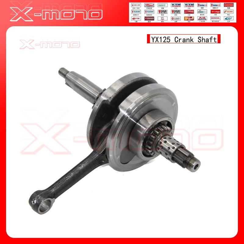 YX125 Crankshaft Crank Shaft FOR YX125 125 cc PIT DIRT BIKE Engine Parts new 4pcs crank crankshaft