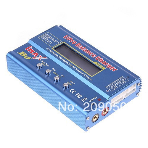 iMAX B6 LCD Lipo NiMh Battery Balance Charger,intelligent multifunction charger for Pb, Ni& NiMH batteries