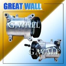 Brand new auto ac compressor for catepillar Brazil Market CO 11121JC Ds104058 G.W.-10S17C-1PK-135