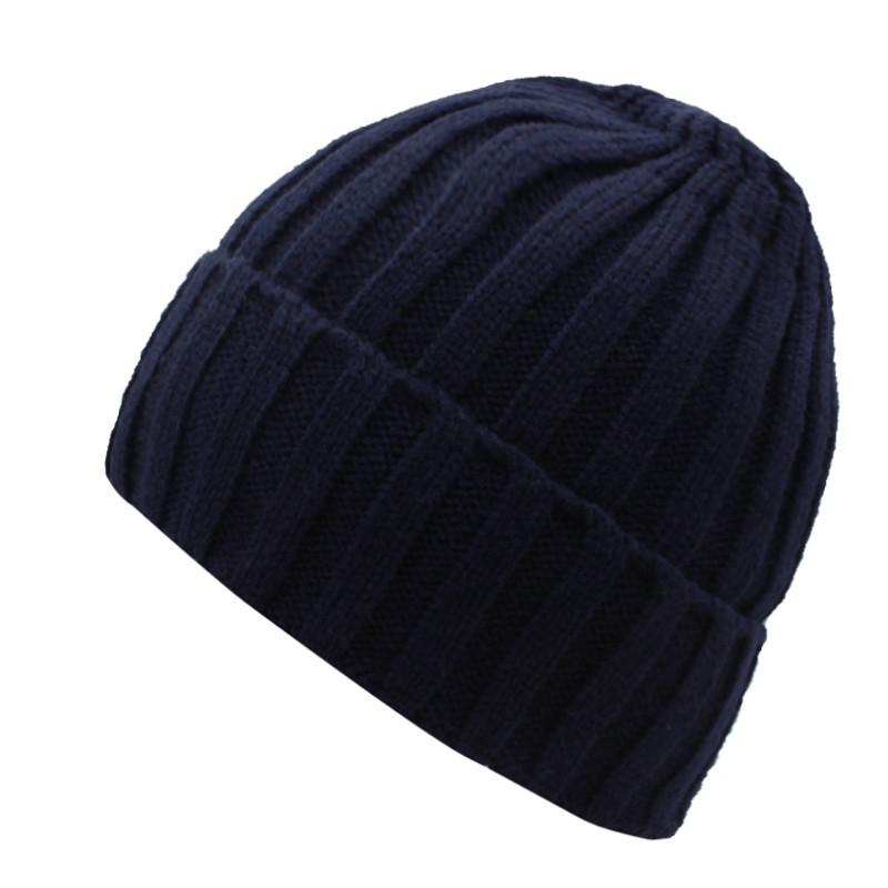 قبعة صوف رجالي دافئة 4