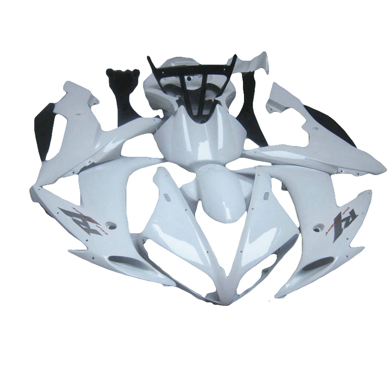 white Injection molded for YAMAHA R1 04 05 06  YZF1000 2005 2004 2006 YZF R1 fairing kit xl08