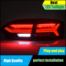Car Styling Tail lamp For Volkswagen VW Jetta MK6 TailLight 2012 2013 2014 LED Dynamic Turn Signal Reverse light Rear Lamp броши марказит hb266 oniks mr