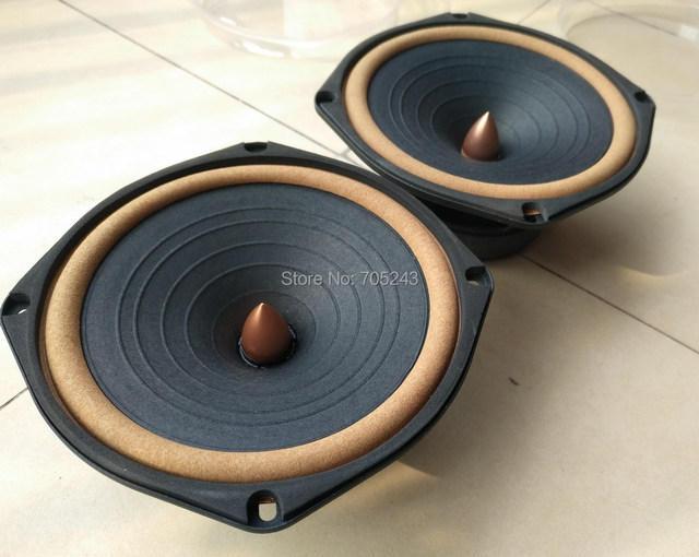 pair HiEND 6.5inch  DIATONE P610  rebuild MK2  fullrange speaker (2016 new  eddition)