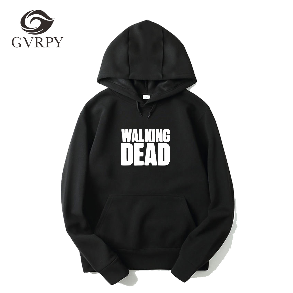 WALKING DEAD hoodies women men streetwear sweatshirt male women's hoodies plus size XS-3XL fashion harajuku hoodie men wholesale
