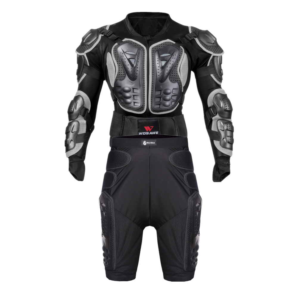 WOSAWE motocross jackets men combinations Moto chest Back support clothes off-road Armor jackets protector Motocross Clothing jackets
