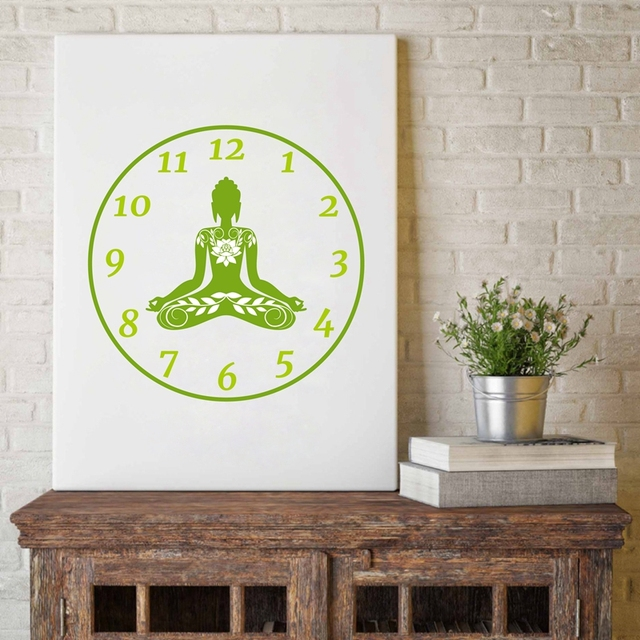 Colorful Lotus Flower Yoga Wall Art Print Poster Watercolor Chakras Om Meditation Picture Canvas Painting Home