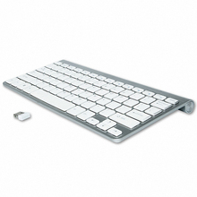 Magro Mini USB Teclado Externo Teclado Sem Fio Teclados Sem Fio Do Computador Pequeno Compacto para Janelas Laptop Tablet PC Desktop