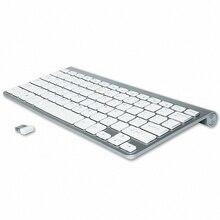 Slim Mini USB Wireless Keyboard Small Computer Wireless Keyboards Compact External Keyboard for Laptop Tablet Windows Desktop PC