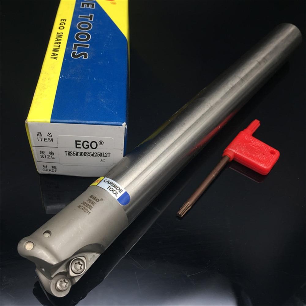 Milling cutter holder TRS5R30D25d250L2T corner rounding end mills ball nose end mills RDMT10T3 TRS4R