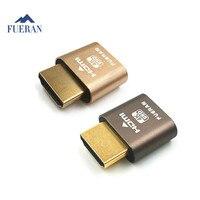 FUERAN 10 Pack HDMI Dummy Plug Headless Ghost Display Emulator Fit Headless 1920x1080 New Generation 60Hz