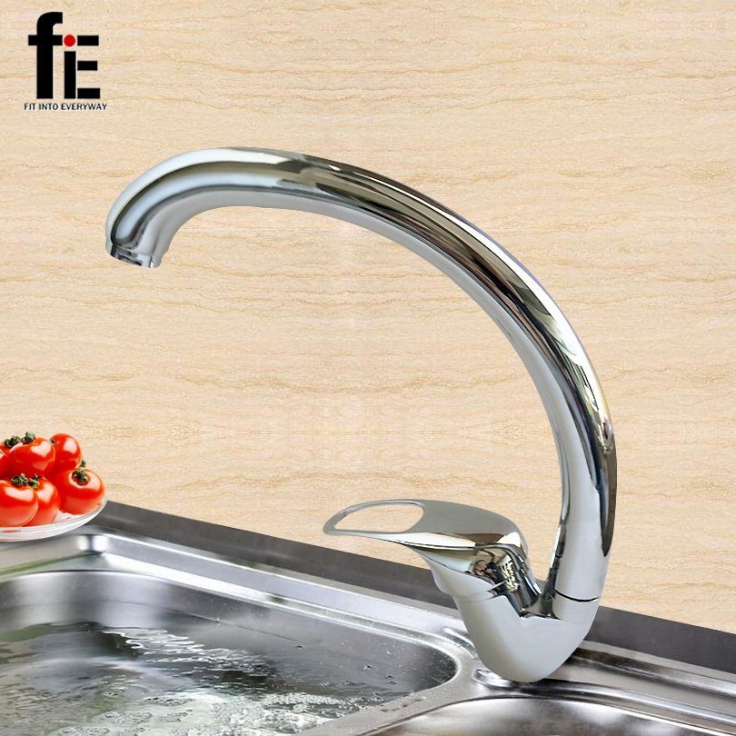 Single Hand Kitchen Zinc Alloy Water Tap Rotatable Cold and Hot Mix Wash Basin Faucets Tap