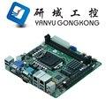 2017 Productos LGA 1151 MINI ITX Placa Base Soporte de 1151 pines Procesador i3 i5 i7 CPU HDMI Gráficos SSD WIFI HDD DDR4