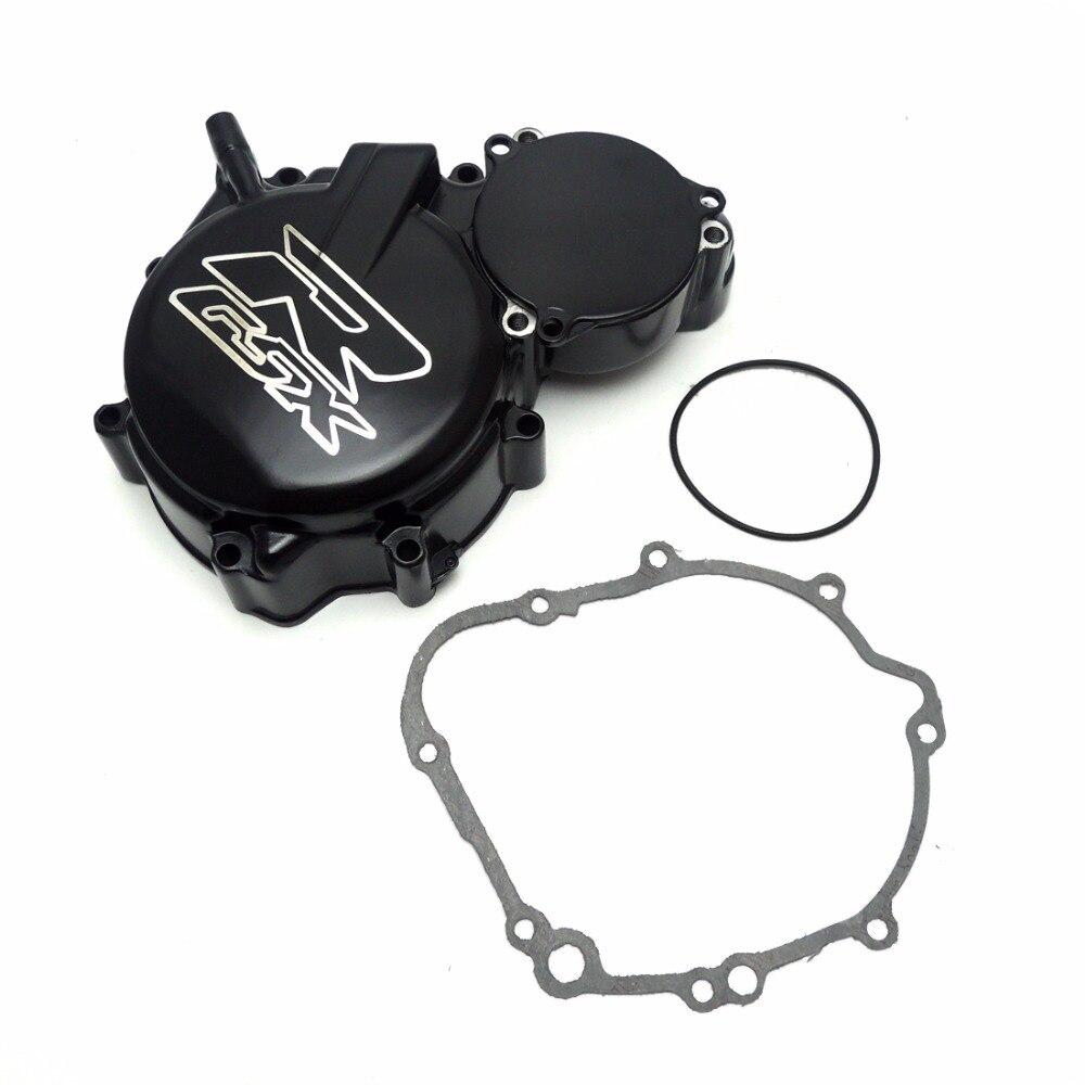 ФОТО For Suzuki GSXR 600 750 Engine Stator Crank Case Cover for Suzuki GSX-R 600 GSX-R750 2006-2015 Motorcycle Engine Stator Cover