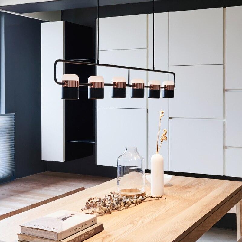 Nordic Design Chandelier For Dinning Table Modern Kitchen Island Hanging Lighting Fixture Luminaire Suspension LED Spot Lamp