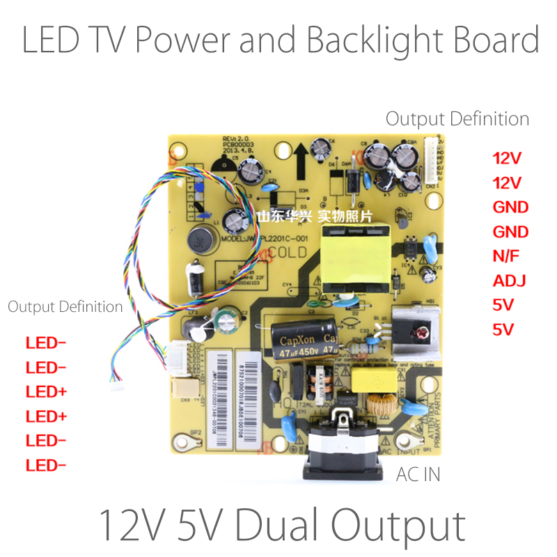 Lcd Tv Main Power Sub Power Backlight Inverter Schematic - Wiring