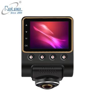 Image 2 - Relee 자동차 DVR 파노라마보기 무선 카메라 360 학위 자동차 대시 캠 1080 P 나이트 비전 비디오 녹화 WIFI 카메라