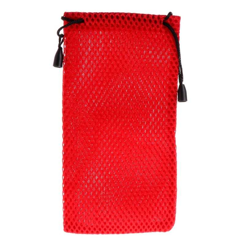 Portable Mesh Plaid Sunglasses Eyeglasses Cloth Storage Bag Glasses Pouch Case