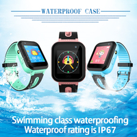 Kids watch tracker watches SOS location waterproof IP67 flashlight Camera Android IOS boy girl clock S7 1PCS