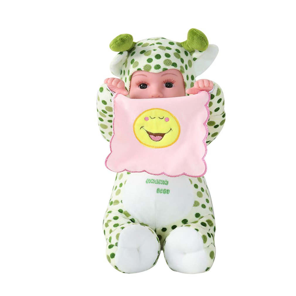 Electric Plush Toy Simulation Realistic Infant Baby Doll Sing Song Toy for Children Soothing Toy Birthday GiftElectric Plush Toy Simulation Realistic Infant Baby Doll Sing Song Toy for Children Soothing Toy Birthday Gift