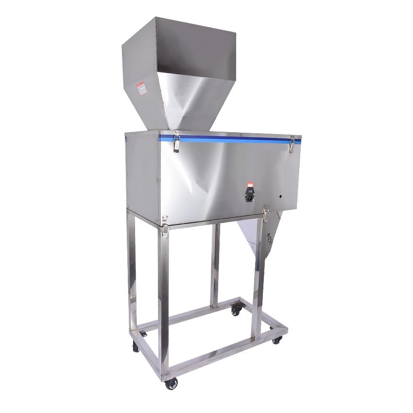 Купить с кэшбэком 20-2500g Automatic Weighing Tea packing machine Quantitative Grain,Medicine,grass/powder/food packaging machine DX-2500